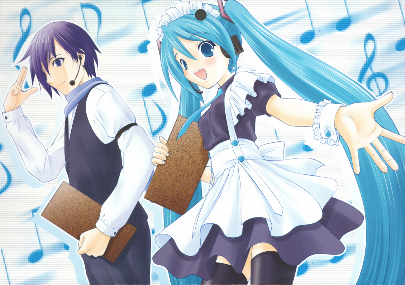VOCALOID Calendar 2008 image by Takeshita Kenjirou