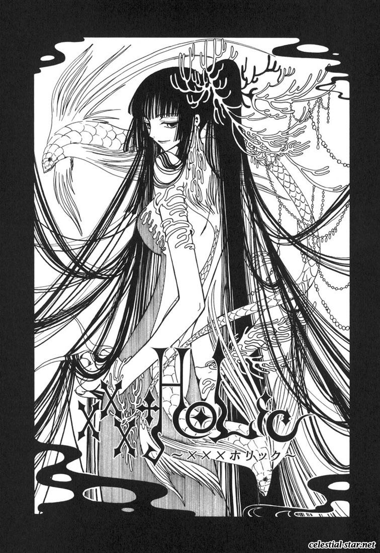 xxHolic Manga image by Clamp