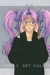 Purple hair image #6304