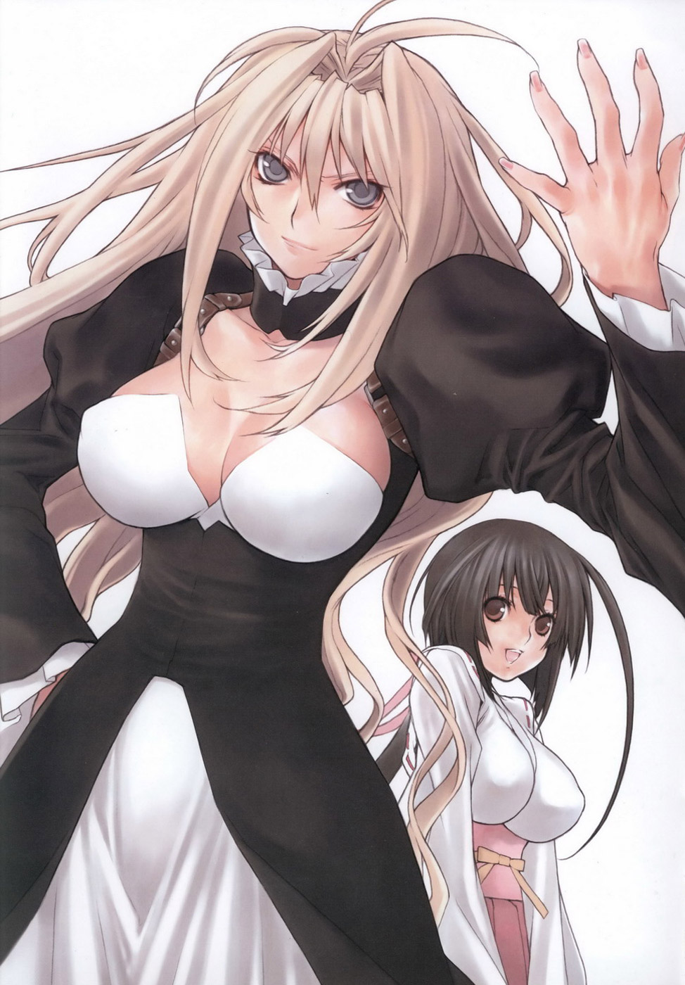 Sekirei Engagement Gokurakuin Visual Art Collection image by Sakurako Gokurakuin
