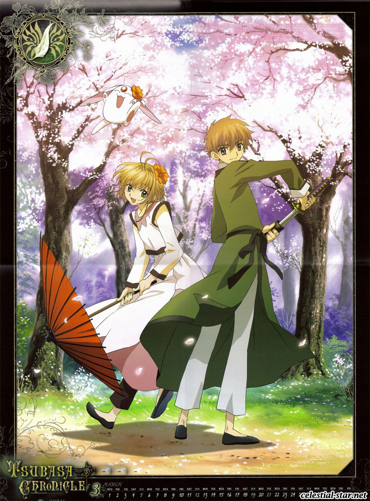 Tsubasa Reservoir Chronicle 2006 Calendar image by Clamp